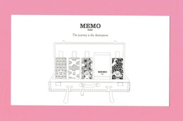 Cartes Parfumées Carte MEMO PARIS 18 Cm X 10 Cm RECTO VERSO - Cartes Parfumées