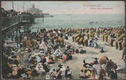 Strand Met Wandelhoofd, Scheveningen, Zuid-Holland, 1910 - Weenenk & Snel Briefkaart - Scheveningen