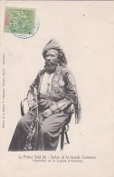 2523195Le Prince Saïd Ali Sultan De La Grande Commore Chevalier De La Légion D'Honneur (timbre 1908)(voir Coins-voir V - Comoros