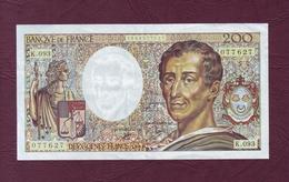200 FRANCS Montesquieu Type 1981 - 1990 - - 1962-1997 ''Francs''