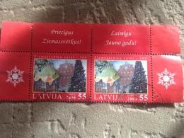 Latvia Used Stamps 2009 - Letonia