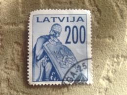 Latvia Used Stamp - Letonia
