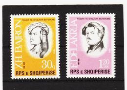 ECK899 ALBANIEN 1988  MICHL 2354/55 ** Postfrischer SATZ SIEHE ABBILDUNG - Albanien