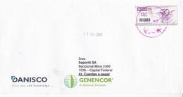 DANISCO, ENVELOPE CIRCULEE BUENOS AIRES-PRIVATE MAIL OCA YEAR 2008-ARGENTINE- BLEUP - Argentina