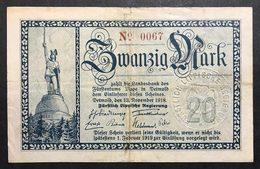 GERMANIA ALEMANIA GERMANY  20 MARK 1918   LOTTO 1997 - [ 2] 1871-1918 : Impero Tedesco