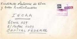 ENVELOPE CIRCULEE INCAA BUENOS AIRES-PRIVATE MAIL OCA CIRCA 2000s-ARGENTINE- BLEUP - Argentina