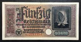 GERMANIA ALEMANIA GERMANY  50 REICHSMARK 1940-45   LOTTO 1998 - [ 4] 1933-1945 : Terzo  Reich