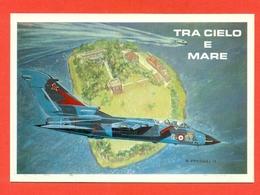 TRA CIELO E MARE- VENEZIA 1995- TORNADO 6° STORMOO- SULL'ISOLOTTO DI  TESSERA - AEREI - Riunioni