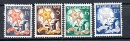 Pays Bas / Série N 245 à 248 / NEUFS Avec Trace De Charnière / Côte 40 € - 1891-1948 (Wilhelmine)