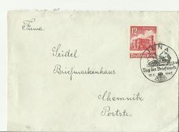 DR  CV 1941 JENA SST Tag Der Briefmarke - Alemania