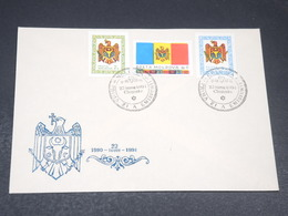 MOLDAVIE - Enveloppe FDC En 1991 - L 19670 - Moldavie