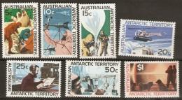 Australian Antarctic Territories  1966  SG  11-8  Scientific Research  Mounted Mint - Territorio Antartico Australiano (AAT)
