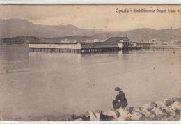 Spezia-Stabilimento Bagni Iride-Vg Il 18.09.1912-Originale100%an - La Spezia