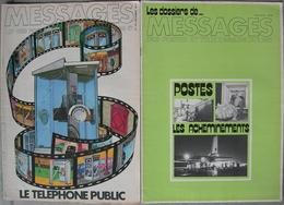 REVUE MESSAGES DES POSTES ET TELECOMMUNICATIONS Année 1978 N° 275 De Décembre Et Supplément «Les Dossiers De ...». - Magazines