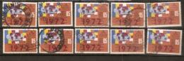 Ceylon  1972  SG  592  Fellowship Of Buddhists   Good To Fine Used Shown As Scan  X10 - Sri Lanka (Ceylon) (1948-...)