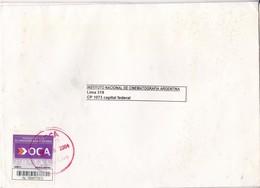 INSTITUTO NACIONAL CINEMATOGRAFIA ARGENTINA-ENVELOPE-PRIVATE MAIL OCA YEAR 2004-ARGENTINE- BLEUP - Argentina