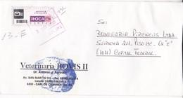 VETERINARIA BOVIS II-ENVELOPE-PRIVATE MAIL OCA YEAR 2006-ARGENTINE- BLEUP - Argentina