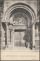 Porche Du Latéral Gauche, L'Église, Saint-Gilles, C.1910 - Neurdein CPA - Saint-Gilles