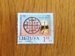 Lithuania Used Stamp 2010 - Lituania