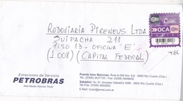 PETROBRAS-ENVELOPE-PRIVATE MAIL OCA YEAR 2007-ARGENTINE- BLEUP - Argentina