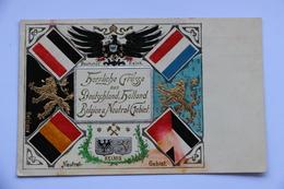 A 815 - Herzliche Grusse Aus Deutschland, Holland, Belgien Neutral Gebiet -  Kelmis   La  Calamine - La Calamine - Kelmis