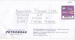 PETROBRAS-ENVELOPE-PRIVATE MAIL OCA YEAR 2006-ARGENTINE- BLEUP - Argentina