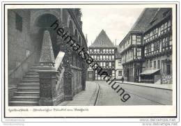 Halberstadt - Malerischer Winkel Am Rathaus 30er Jahre - Allemagne