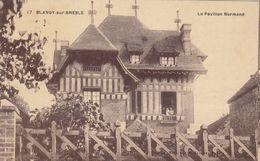 Cp , 76 , BLANGY-sur-BRESLE , Le Pavillon Normand - Blangy-sur-Bresle