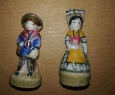 CHARENTES - COUPLE HOMME FEMME 1992 - FEVES BRILLANTES - Région