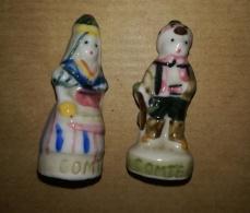 COMTE DE FOIX - COUPLE HOMME FEMME 1992 - FEVES BRILLANTES - Regions