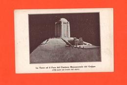 Cima Grappa Progetto Faro ETorre Per Il Cimitero Anni 1920 Circa - Vicenza