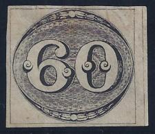 BRASIL 1843 - Yvert#2 - MLH * - Neufs