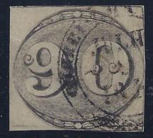 BRASIL 1843 - Yvert#3 - VFU - Usados