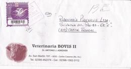 VETERINARIA BOVIS II.ENVELOPE CIRCULEE TO BUENOS AIRES-PRIVATE MAIL OCA YEAR 2008-ARGENTINE- BLEUP - Argentina