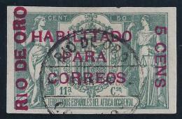 ESPAÑA/RIO DE ORO 1908 - Edifil #40A - MLH * - Rio De Oro