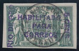 ESPAÑA / RIO DE ORO 1908 - Edifil #40B - Rio De Oro