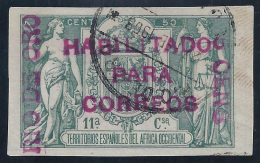 ESPAÑA/RIO DE ORO 1908 - Edifil #40C - VFU - Rio De Oro