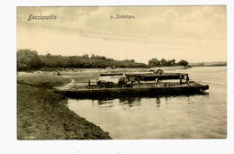 Bessarabia Bessarabie Dnjestr River Ca 1910 OLD POSTCARD 2 Scans - Moldavia