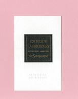 Cartes Parfumées Carte  EXQUISITE EMBROIDERY  De YVES SAINT LAURENT LE VESTIAIRE DES PARFUMS - Cartes Parfumées