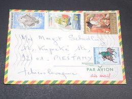 DAHOMEY - Enveloppe De Cotonou Pour La Tchécoslovaquie , Affranchissement Plaisant - L 19690 - Bénin – Dahomey (1960-...)
