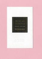 Cartes Parfumées Carte  SUPRÊME BOUQUET  De YVES SAINT LAURENT LE VESTIAIRE DES PARFUMS - Cartes Parfumées