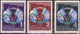 GUATEMALA 1954 - RIUNIONE CANCELLIERI SUDAMERICANI - SERIE COMPLETA USATA - Guatemala