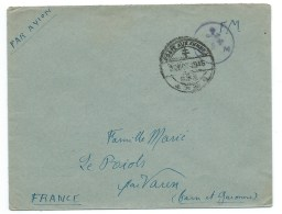 ENVELOPPE WW2 1945 /  POSTES AUX ARMEES FFL - Postmark Collection (Covers)