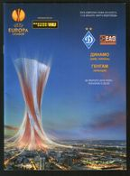 Official Football Programme Dynamo (Kiev, Ukraine) - Guingamp (France) UEFA Europa Leagu 2015 (calcio, Soccer) - Programs