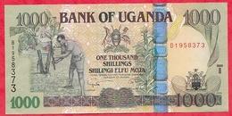 Ouganda 1000 Shilingi 2009 Dans L 'état - Uganda
