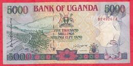 Ouganda 5000 Shilingi 1993 Dans L 'état - Uganda