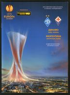 Official Football Programme Dynamo (Kiev, Ukraine) - ACF Fiorentina (Italy) UEFA Europa Leagu 2015 (calcio, Soccer) - Programs