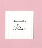 Cartes Parfumées  INCENSE OUD   BY  KILIAN - Cartes Parfumées