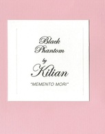 Cartes Parfumées  BLACK PHANTOM   BY  KILIAN - Cartes Parfumées