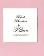 Cartes Parfumées  BLACK PHANTOM   BY  KILIAN - Modern (from 1961)